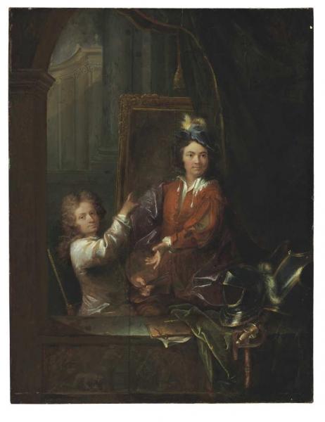 TOURNIÈRES-Robert-Autoportrait-avec-Pierre-de-La-Roche-Musée-des-B-A-de-Caen_2
