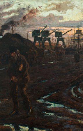 Raoul DUFY (1877-1953), Fin de journée au Havre, 1901, huile sur toile, 99 x 135 cm. © MuMa Le Havre / David Fogel — © ADAGP, Paris, 2014
